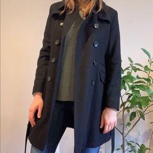 DKNY Double-Breasted Pea Coat